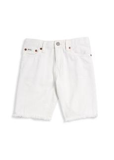 Ralph Lauren Childrenswear Little Boy's & Boy's Five-Pocket Denim Shorts