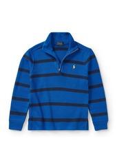 Ralph Lauren Childrenswear Little Boy's & Boy's French-Rib Half-Zip Pullover