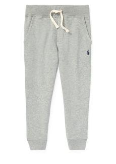 Ralph Lauren Childrenswear Little Boy's & Boy's Heathered Fleece Joggers