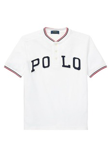 Ralph Lauren Childrenswear Little Boy's & Boy's Mesh Cotton Henley