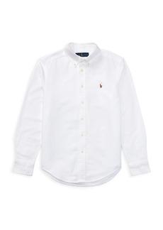 Ralph Lauren Childrenswear Little Boy's & Boy's Cotton Oxford Sport Shirt