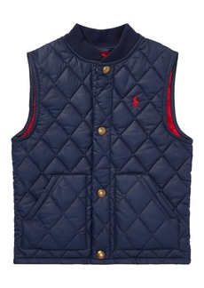 Ralph Lauren Childrenswear Little Boy's & Boy's Quilted Vest