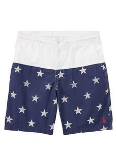 Ralph Lauren Childrenswear Little Boy's & Boy's Star Cotton Shorts
