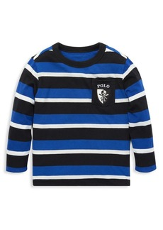 Ralph Lauren Childrenswear Little Boy's & Boy's Striped Cotton Tee