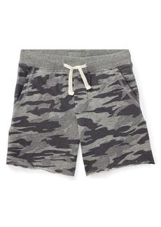Ralph Lauren Childrenswear Little Boy's Camo-Print Cotton Shorts