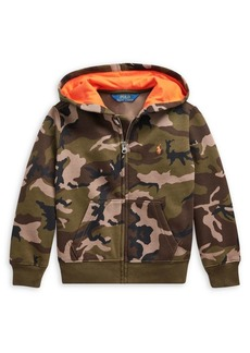 Ralph Lauren Childrenswear Little Boy's Camouflage Cotton-Blend Fleece Hoodie