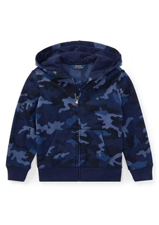 Ralph Lauren Childrenswear Little Boy's Camouflage-Print Hoodie