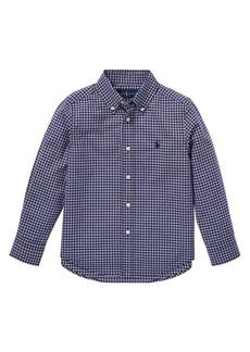 Ralph Lauren Childrenswear Little Boy's & Boy's Checkered Poplin Shirt