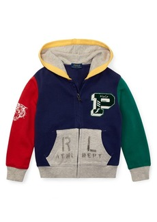 Ralph Lauren Childrenswear Little Boy's Colorblock Cotton Hoodie