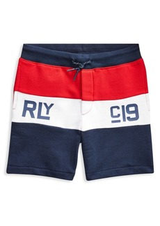 Ralph Lauren Childrenswear Little Boy's Colorblock French Terry Shorts