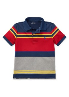 Ralph Lauren Childrenswear Little Boy's Colorblock Performance Polo