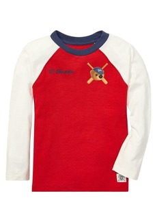 Ralph Lauren Childrenswear Little Boy's Cotton Baseball Tee