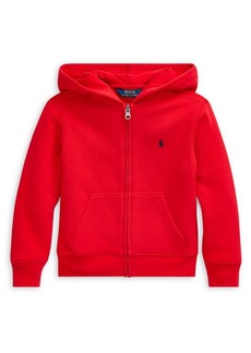 Ralph Lauren Childrenswear Little Boy's Cotton-Blend Fleece Hoodie