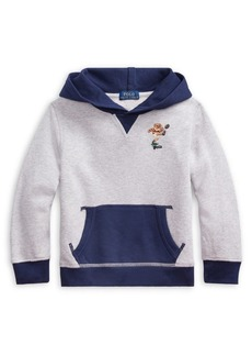 Ralph Lauren Childrenswear Little Boy's Cotton Fleece Hoodie
