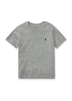 Ralph Lauren Childrenswear Little Boy's Cotton Jersey Crewneck Tee