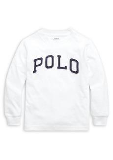 Ralph Lauren Childrenswear Little Boy's Cotton Jersey Logo Tee