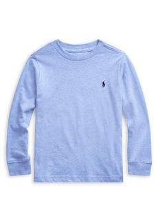 Ralph Lauren Childrenswear Little Boy's Cotton Jersey Long-Sleeve Tee