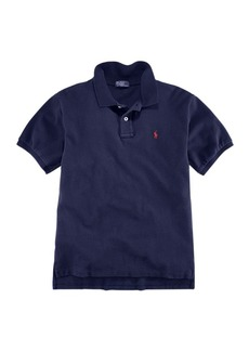 Ralph Lauren Childrenswear Little Boy's Cotton Mesh Polo