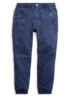 Ralph Lauren Childrenswear Little Boy's Cotton Poplin Jogger Pants
