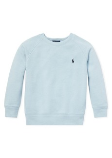 Ralph Lauren Childrenswear Little Boy's Crewneck Terry Sweatshirt