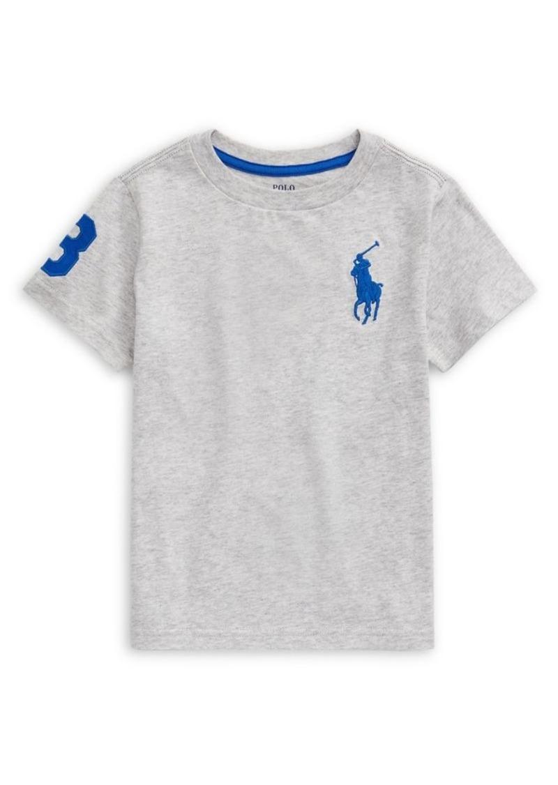 Ralph Lauren Childrenswear Little Boy's Embroidered Logo Cotton Tee