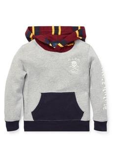 Ralph Lauren Childrenswear Boy's Colorblock Fleece Hoodie
