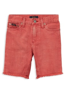Ralph Lauren Childrenswear Little Boy's & Boy's Slouch Slim-Fit Denim Shorts
