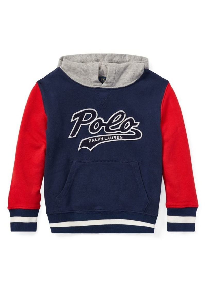 Ralph Lauren Childrenswear Little Boy's & Boy's French Terry Varsity Hoodie