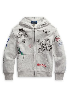 Ralph Lauren Childrenswear Little Boy's Graphic Cotton French Terry Hoodie