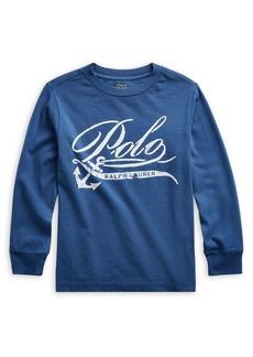Ralph Lauren Childrenswear Little Boy's Graphic Cotton Jersey Tee