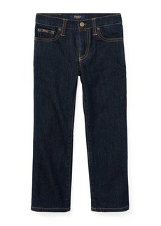 Ralph Lauren Childrenswear Little Boy's Hampton Straight Stretch Jeans
