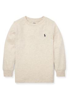 Ralph Lauren Childrenswear Little Boy's Heathered Jersey Sweater