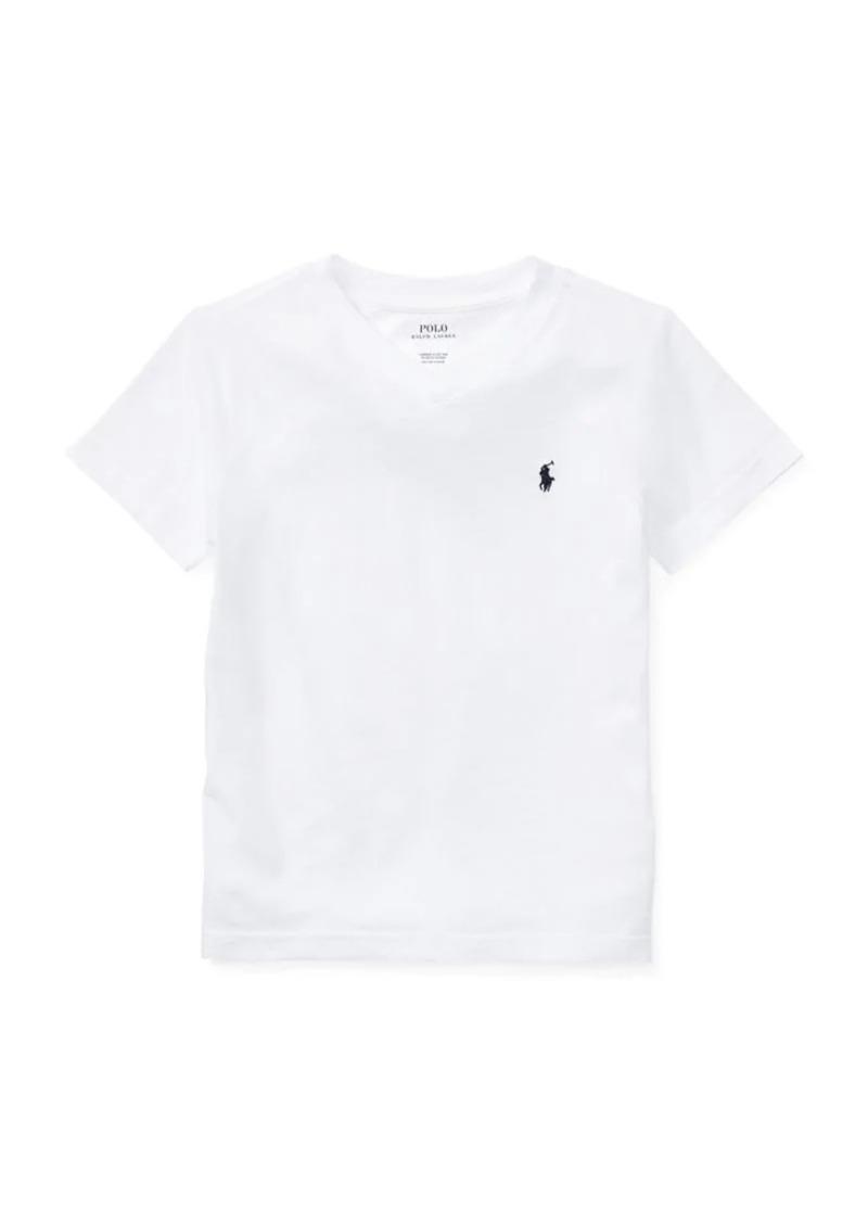 Ralph Lauren Childrenswear Little Boy's Cotton Jersey V-Neck T-Shirt