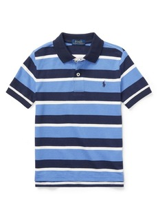 Ralph Lauren Childrenswear Little Boy's Lightweight Stripe Polo