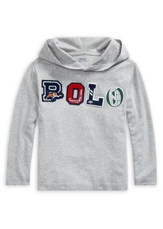 Ralph Lauren Childrenswear Little Boy's Logo Cotton Hooded Tee