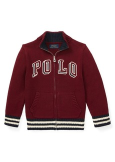 Ralph Lauren Childrenswear Little Boy's Logo Cotton Jacket