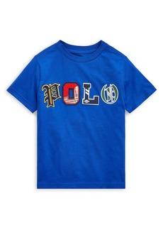 Ralph Lauren Childrenswear Little Boy's Logo Cotton Jersey Tee