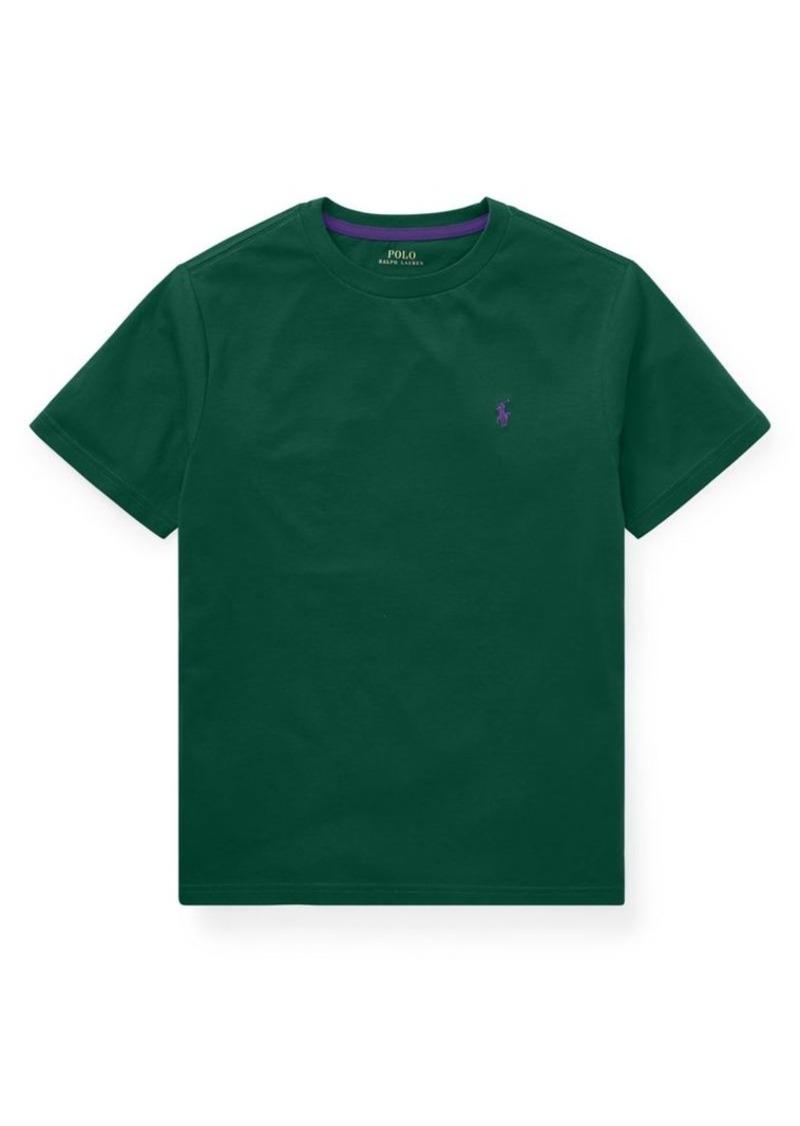 Ralph Lauren Childrenswear Little Boy's Logo Cotton Tee