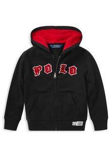 Ralph Lauren Childrenswear Little Boy's Logo Full-Zip Hoodie