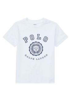 Ralph Lauren Childrenswear Little Boy's Logo Graphic Tee