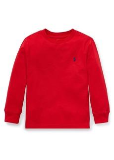 Ralph Lauren Childrenswear Little Boy's Long-Sleeve Cotton Tee