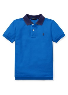 Ralph Lauren Childrenswear Little Boy's Mesh Cotton Polo