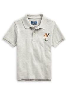 Ralph Lauren Childrenswear Little Boy's Mesh Cotton Polo