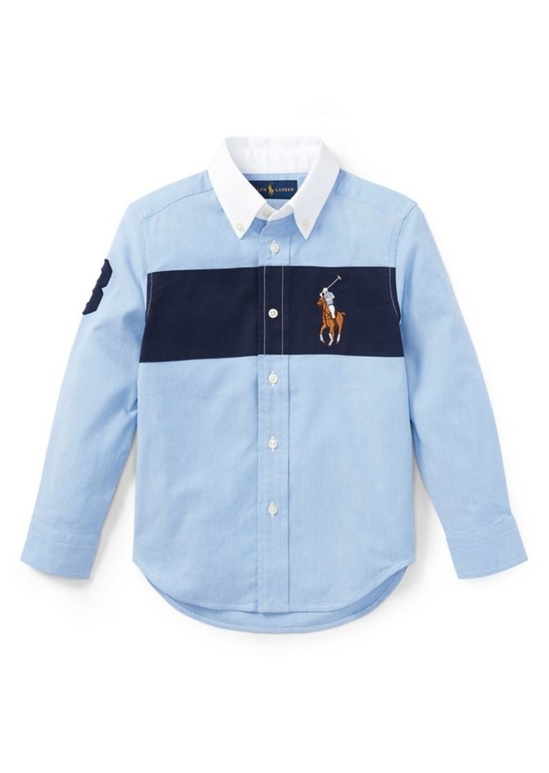 797667f040 Childrenswear Little Boy's Performance Oxford Shirt