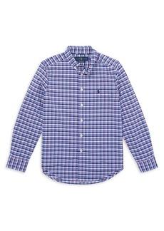 Ralph Lauren Childrenswear Little Boy's Performance Oxford Shirt