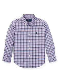 Ralph Lauren Childrenswear Little Boy's Plaid Button-Down Shirt
