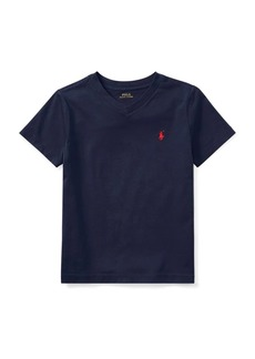 Ralph Lauren Childrenswear Little Boy's Plain Cotton Tee