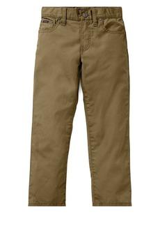 Ralph Lauren Childrenswear Little Boy's Poplin Pants