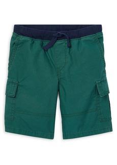 Ralph Lauren Childrenswear Little Boy's Pull-On Cotton Cargo Shorts