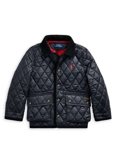 Ralph Lauren Childrenswear Little Boy's Quilted Water-Repellent Jacket